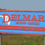 DelMar Welcome Sign