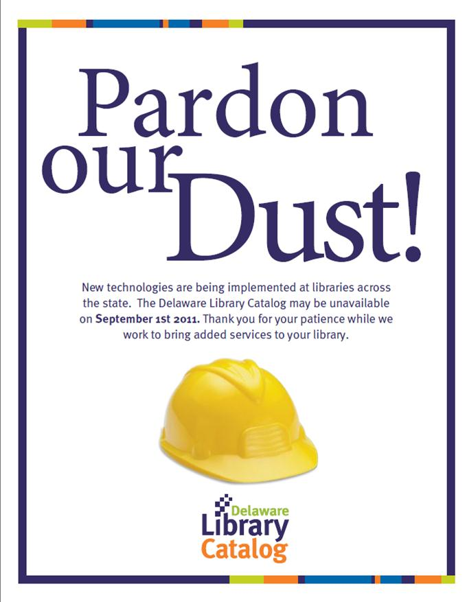 Pardonourdust Division Of Libraries Blog State Of