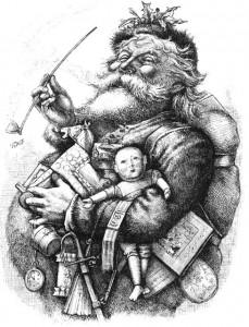 Santa Claus, by Thomas Nast