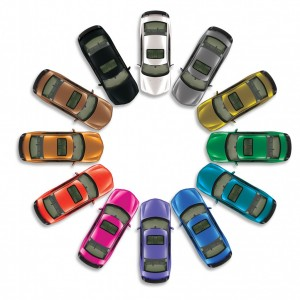 "Q: ""What is the most popular color for a car in the U.S. ..."