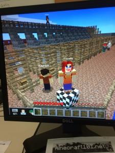 Minecraft at Woodlawn